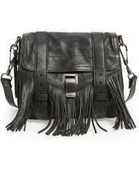 Proenza Schouler 'Ps1' Fringed Crossbody Pouch - Lyst