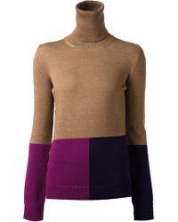 Altuzarra Colorblock Pullover Sweater - Lyst