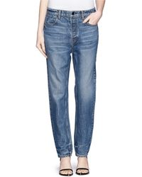 Alexander Wang 'Wang 003' Boy Fit Jeans blue - Lyst