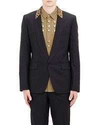 Comme des Garçons Leopard-Collar Single-Button Sportcoat black - Lyst