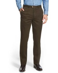 Bensol - Slim Cotton Moleskin Pants - Lyst