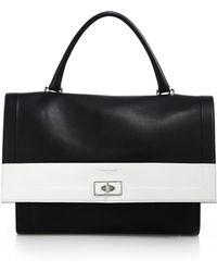 Givenchy   Shark Medium Two-tone Leather Satchel   Lyst