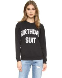 Private Party - Birthday Suit Sweatshirt - Lyst