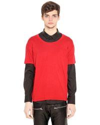 Perdre Haleine Oversized Cotton Blend T-Shirt - Lyst