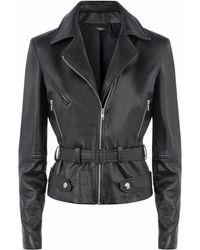 Vielma.London - Black Leather Jacket - Lyst