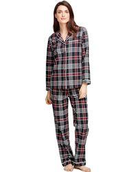 Brooks Brothers - Cotton Plaid Pyjama Set - Lyst