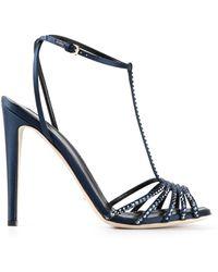 Sergio Rossi Strappy Sandals - Lyst