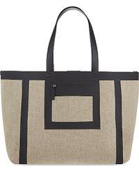 Victoria Beckham Simple Canvas Shopper - Lyst