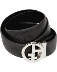 Giorgio Armani 35Mm Reversible Leather Belt - Lyst