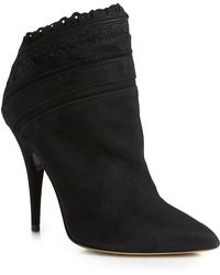 Tabitha Simmons Harmony Ankle Bootie Harmony Ankle Bootie black - Lyst