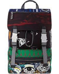 Kenzo Urban Logos Backpack Multi - Lyst