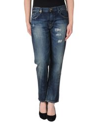 Ralph Lauren Blue Label Denim Pants - Lyst