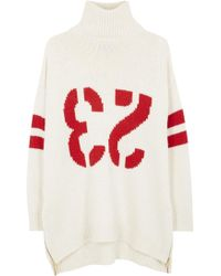 Zadig & Voltaire - North Bis Oversized Chunky Knit Jumper - Lyst