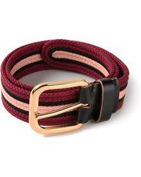 Marni Striped Belt - Lyst