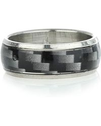 Topman Holographic Ring - Lyst