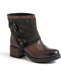Vera Wang Lavender Esther Suede & Leather Boots - Lyst