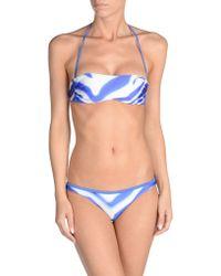 Just Cavalli Bikini blue - Lyst