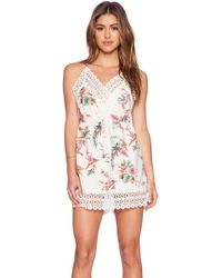 Toby Heart Ginger - Tropical Paradise Playsuit - Lyst
