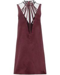 Christopher Kane Abstract Boning Dress - Lyst
