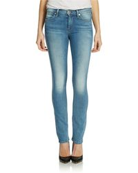 7 For All Mankind Modern Straight Jeans - Lyst