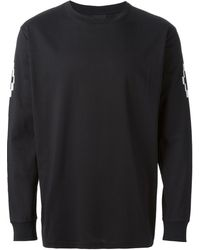 Marcelo Burlon County Of Milan Black Printed T-shirt - Lyst