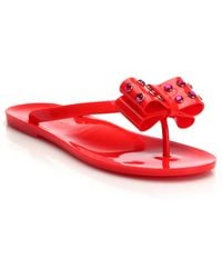 Kate Spade | France Jelly Flat Sandals | Lyst