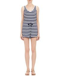 Solid & Striped - French Terry Tank Romper - Lyst