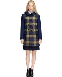 Brooks Brothers Wool Toggle-Front Duffle Coat - Lyst