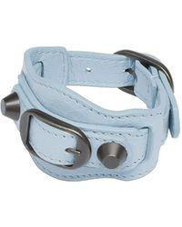Balenciaga Blue Classic Bracelet - Lyst