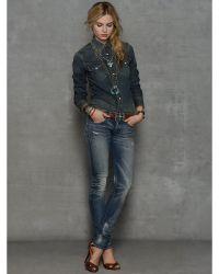 RRL | Rockford-wash Skinny Jean | Lyst
