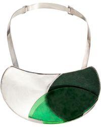 Isabel Englebert - London Plateau Necklace Silver - Lyst