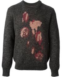 Our Legacy - Roses Jacquard Jumper - Lyst