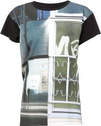 Mm6 By Maison Martin Margiela Graphic T-shirt - Lyst
