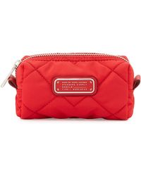 Marc By Marc Jacobs Crosby Quilted Small Cosmetics Bag - Lyst