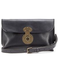 Will Leather Goods 'Eva' Leather Clutch - Lyst