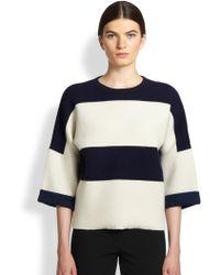 Derek Lam Cashmere Stripe Sweater - Lyst