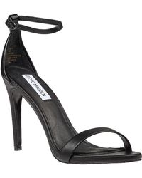 Steve Madden Stecy Ankle Strap Sandal Black - Lyst