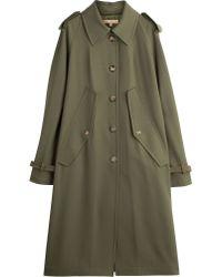 Michael Kors Vrigin Wool Trench Coat - Lyst