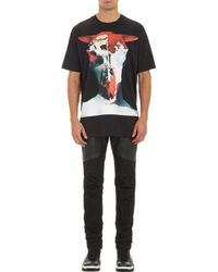 Givenchy Black Bull-skull T-shirt - Lyst