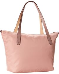Cole Haan Parker Nylon Small Zip Top Shopper - Lyst