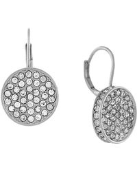 Vince Camuto - Silvertone Crystal - Lyst