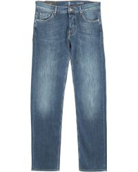 7 For All Mankind Straight Leg Standard Jeans - Lyst