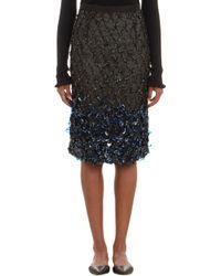 Erdem Embellished Pencil Skirt - Lyst