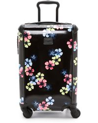 Tumi International Carry On Suitcase - Black Floral - Lyst