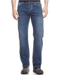 Armani Jeans Mid Dark Wash Jeans - Lyst