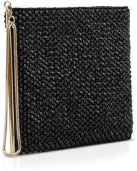 Reiss Clutch - Cindy Embellished Zip - Lyst
