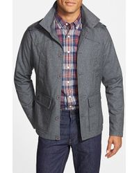 Kane & Unke - Trim Fit Military Jacket - Lyst