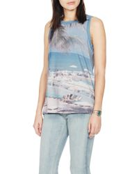 Current/Elliott The Muscle Tee multicolor - Lyst