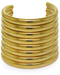 Vickisarge Goldplated Burma Arm Cuff - Lyst