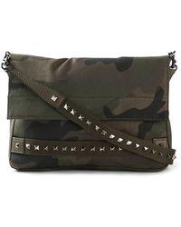 Valentino Camouflage Messenger Bag - Lyst